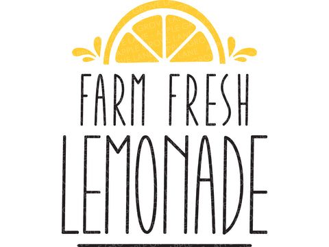 Lemonade Svg Cut File - Summer Svg - Lemons Svg - Farm Fresh Lemonade Svg - Svg Eps Dxf Png