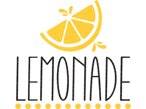 Lemonade Svg Cut File - Summer Svg - Lemons Svg - Fresh Lemonade Svg - Svg Eps Dxf Png