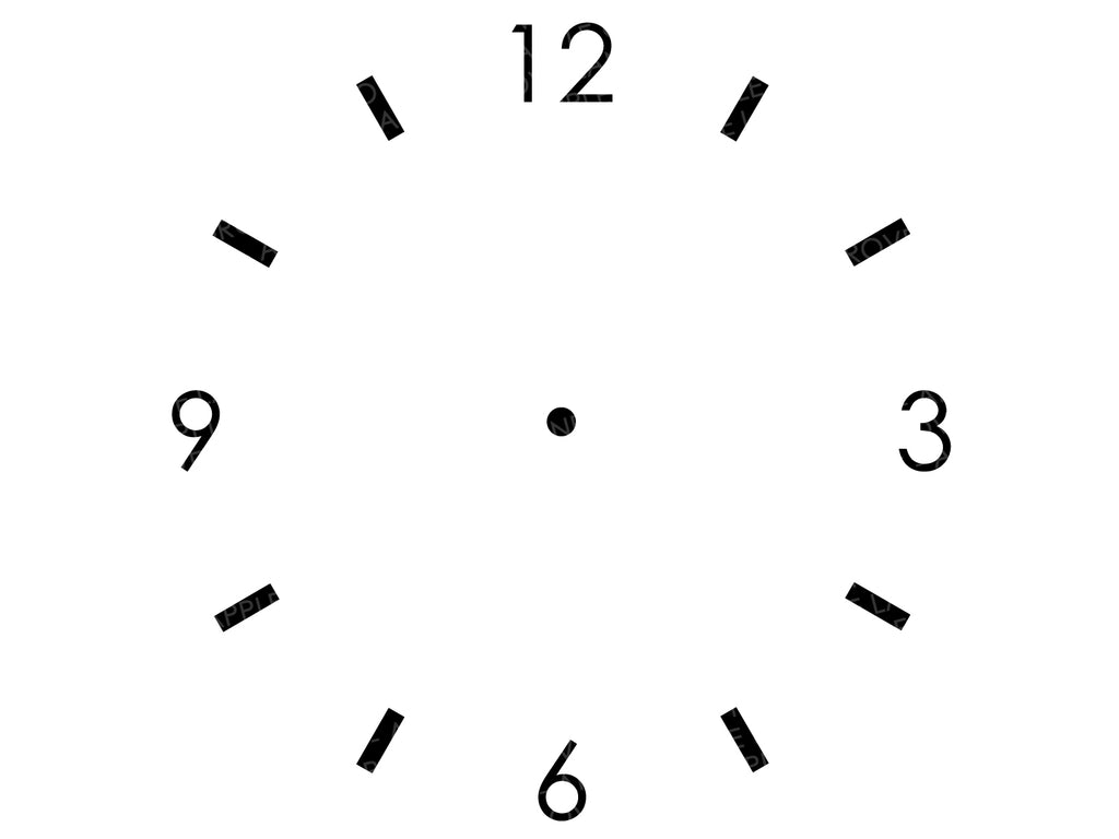 It is a graphic of Printable Clock Template within digital clock