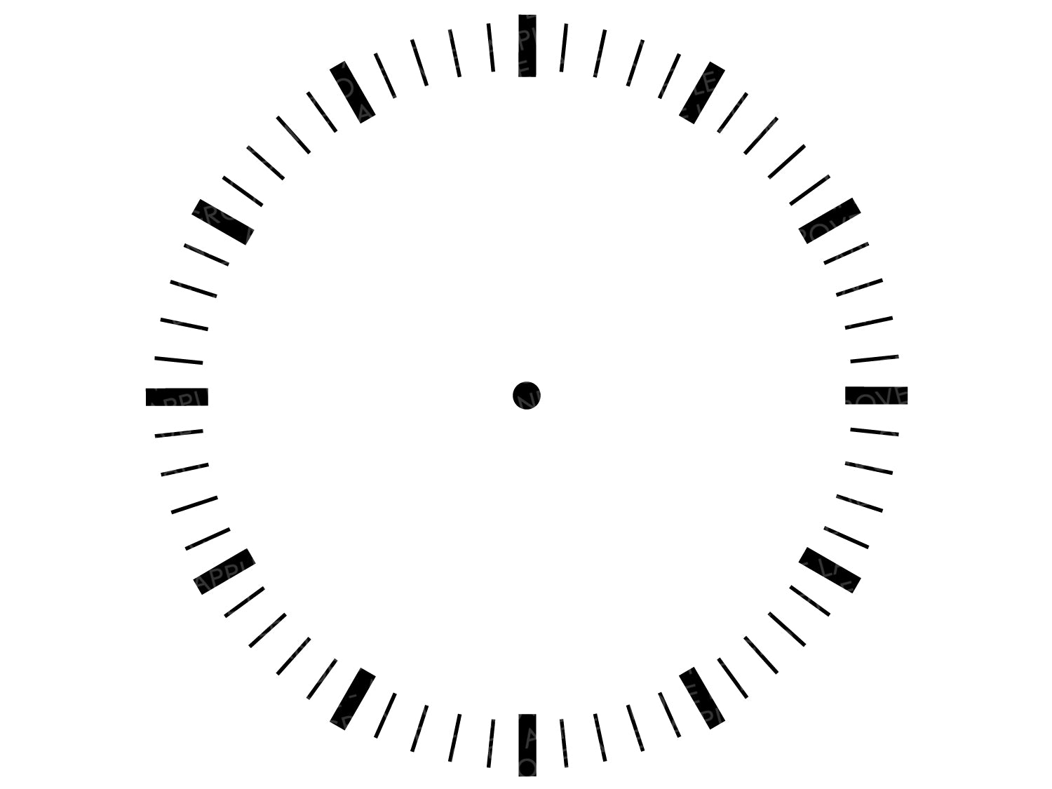 Clock Face Svg - Clock Svg - Svg Clock Template - Clock Numbers Svg - Clock Stencil - Svg Eps Png Dxf