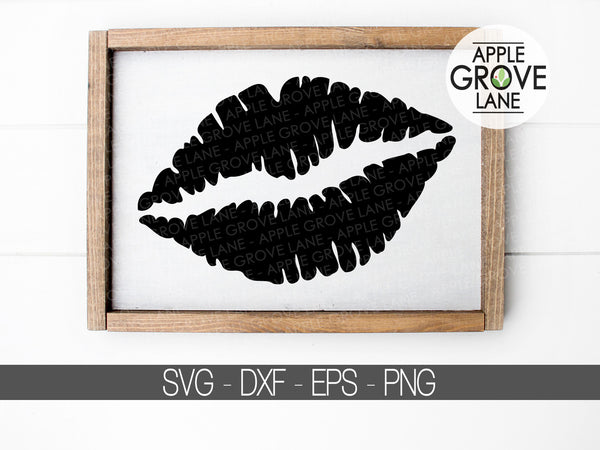Lips Svg - Valentines Day Svg - Love Svg - Lips Clipart - Kiss Clip Art - Love Vector - Valentine SVG - Kiss Svg - Wedding Svg - Svg Eps Dxf Png