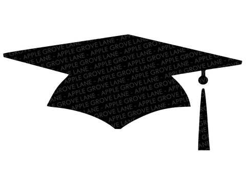 Graduation Cap Svg - Graduation Hat Svg - Graduation Svg - School Svg - High School Svg - Preschool Svg - Kindergarten Svg - Svg Eps Png Dxf