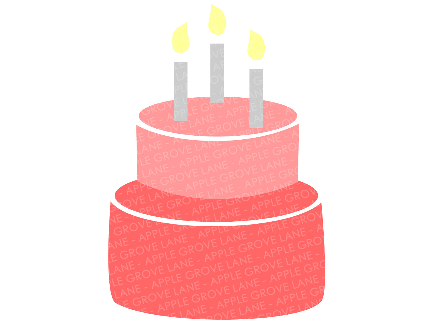 Birthday Cake Svg - Birthday Svg - Birthday Party Svg - Cake Svg - Birthday Candle Svg - Birthday Cake Clip Art - Svg Eps Png Dxf