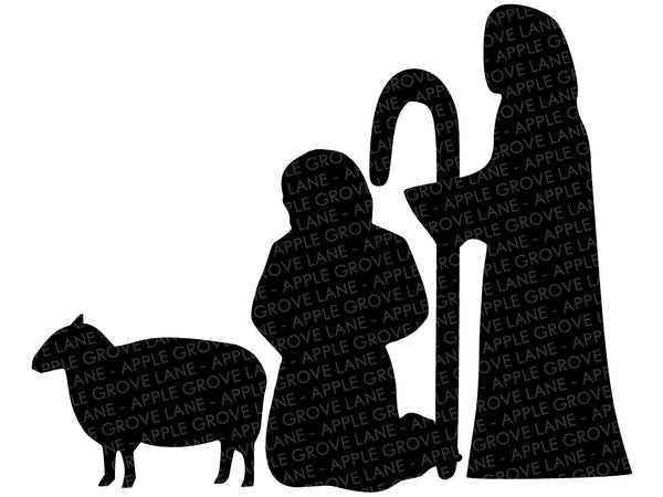 Nativity SVG Bundle - Manger Svg - Stable SVG - Christmas Svg - Nativity Clip Art - Nativity Silhouette - Nativity Vector - Svg Eps Dxf Png