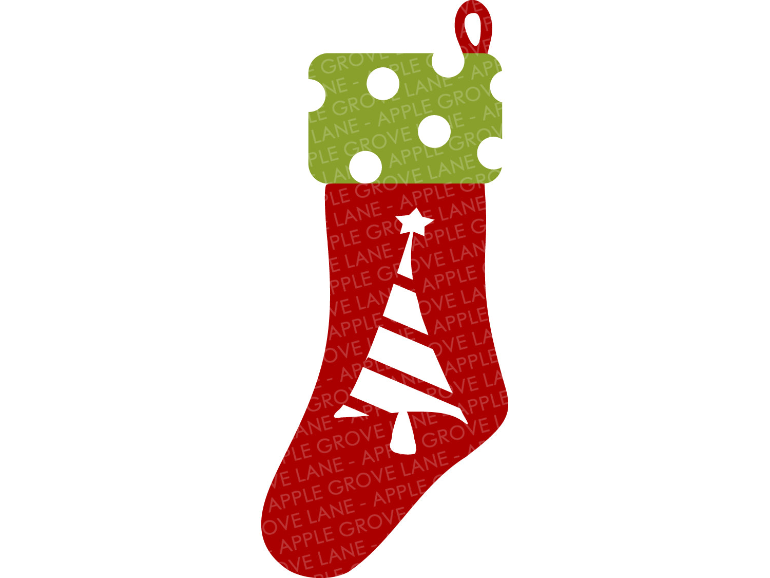 Christmas Stocking Svg - Stocking Svg - Christmas Svg - Christmas Tree Svg - Christmas Sock Svg - Stocking Clip Art - Svg Eps Dxf Png