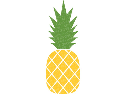 Pineapple Svg - Hawaiian Svg - Aloha Svg - Beach Svg - Tropical Svg - Summer Svg - Island Svg - Fruit Svg - Svg Eps Png Dxf