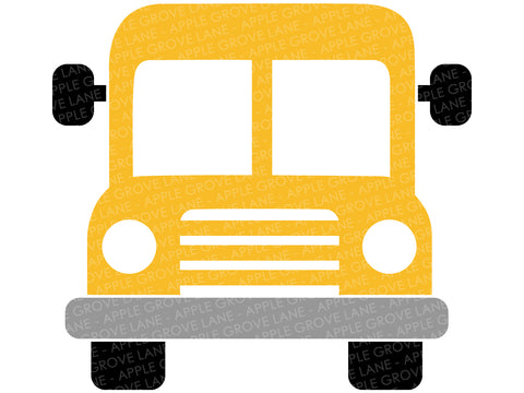 School Bus Svg - School Svg - Bus Svg - Back To School Svg - Teacher Svg - School Bus Clip Art - Bus Driver Svg - Svg Eps Dxf Png