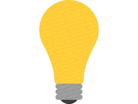 Light Bulb Svg - Light Svg - Lightbulb Svg - Bulb Svg - Light Bulb Clip Art - Light Bulb Cut File - Electricity Svg - Svg Eps Dxf Png