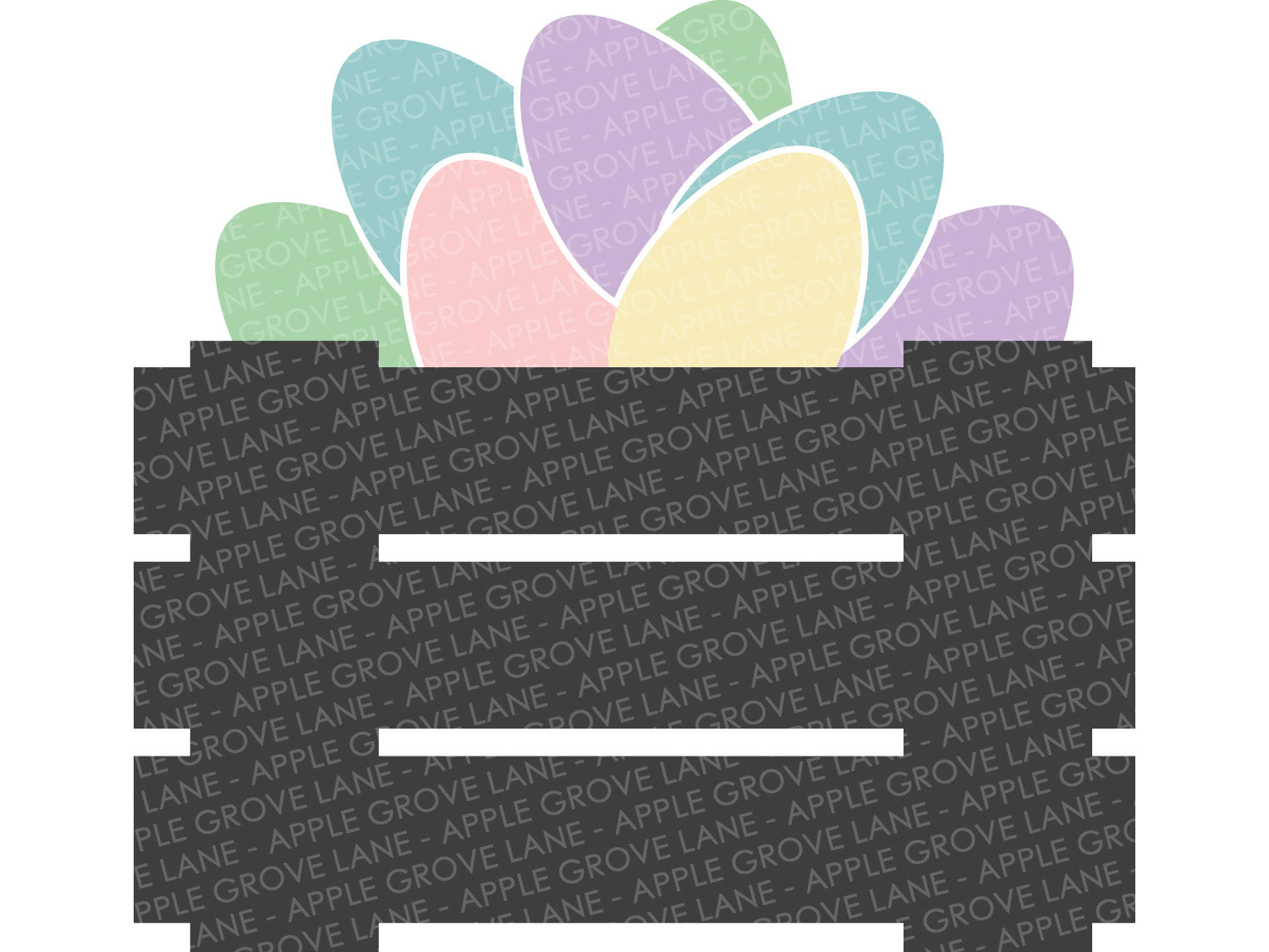 Easter Eggs Svg - Easter Svg - Easter Eggs Crate Svg - Easter Crate Svg - Farmhouse Easter Svg - Easter Eggs Clip art - Svg Eps Dxf Png