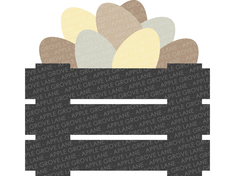 Egg Crate Svg - Chicken Svg - Farmhouse Svg - Farm Crate Svg - Egg Basket Svg - Farm Svg - Chicken Farm Svg - Svg Eps Dxf Png