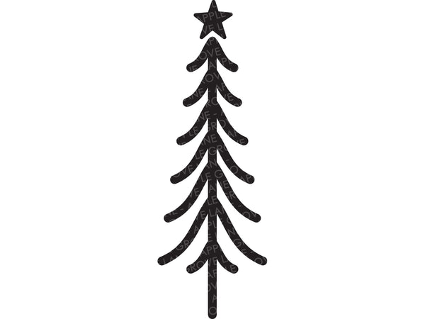 Christmas Tree SVG - Christmas Svg - Christmas Sign Svg - Christmas Trees Svg - Christmas Tree Clipart - Christmas Shirt Svg Eps Dxf Png