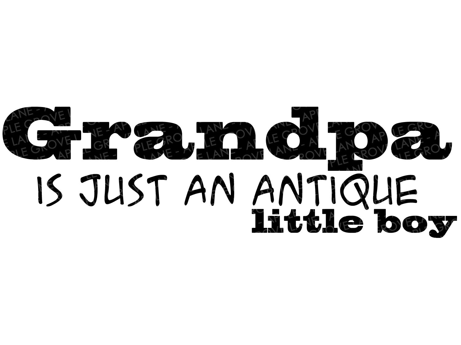 Grandfather Svg - Grandpa Svg - Grandpa Antique Boy Svg - Father's Day Svg - Fathers Day Gift - Gift for Grandpa - Svg Dxf Png Eps