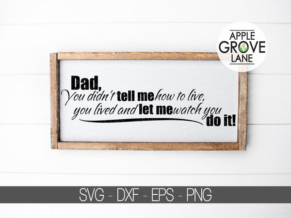 Fathers Day Svg - Dad Svg - Father Svg - Fathers Day Gift - Gift for Dad - Fathers Day Clip art - Svg Eps Dxf Png