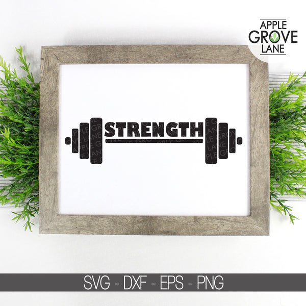 Fitness Svg, Workout Svg, Gym Svg, Strength Svg, Weight Lifting Svg, Exercise Svg, Motivational Svg, Inspirational Svg - Svg Eps Png Dxf