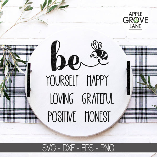 Be Yourself Svg, Bee Svg, Honey Bee Svg, Bumble Bee Svg, Bee Clipart, Honeycomb Svg, Bee Kind Svg, Bee Cut File, Bumblebee Svg Eps Dxf Png