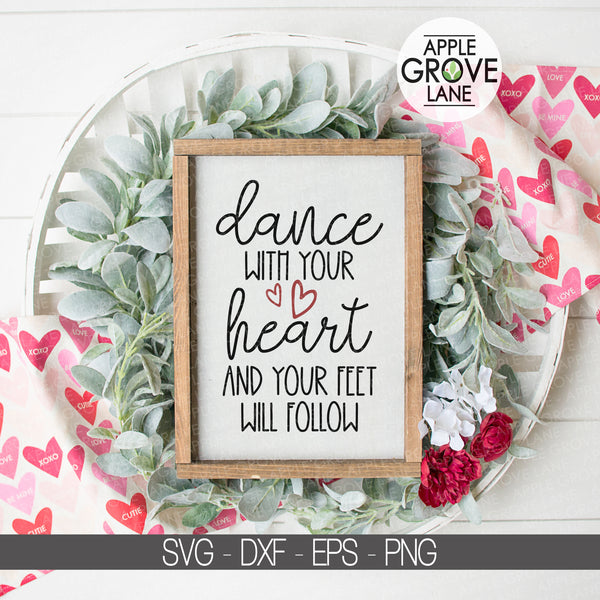 Dance SVG, Valentine Svg, Dance with Heart Svg, Dancer Svg, Dancing Svg, Dance Life SVG, Dance Team Svg, Drill Svg, Ballet Svg Eps Dxf Png