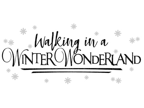 Winter Wonderland Svg - Christmas Svg - Snow Svg - Snowflakes Svg - Holidays Svg - Winter Svg - Svg Eps Png Dxf