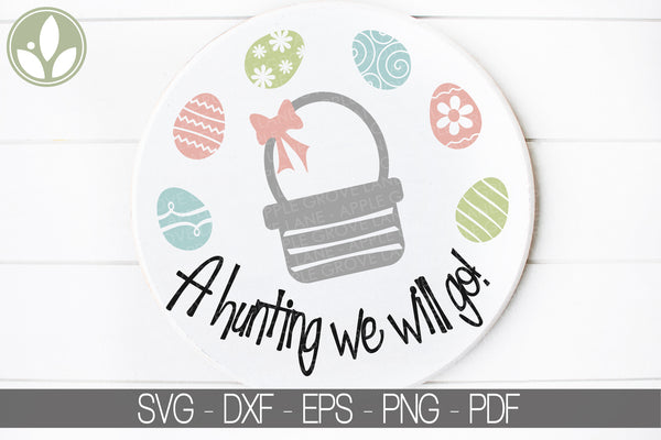 Easter Egg Hunt Svg - Easter Svg - Easter Egg Svg - Easter Hunt Svg - Easter Basket Svg - Easter Clipart - Kids Easter Svg - Svg Eps Dxf Png