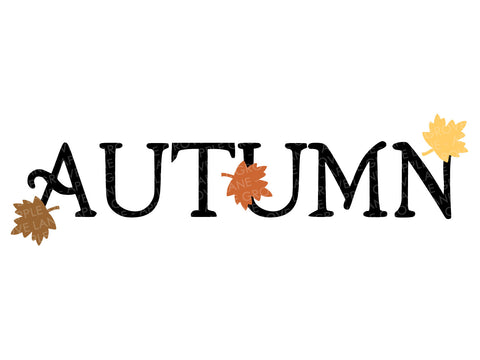Autumn Leaves Svg - Fall Svg - Autumn Svg - Thanksgiving Svg - Fall Leaves Svg - Svg Eps Png Dxf