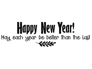 Happy New Year Svg - New Year Svg - Resolutions Svg - Goals Svg - New Years Eve Svg - New Years Shirt Svg - Svg Eps Dxf Png