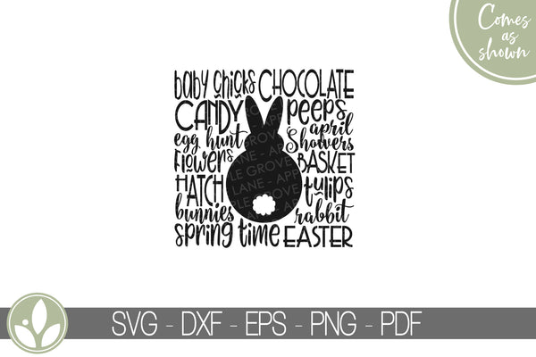 Spring Svg - Easter Subway Art Svg - Spring Sign Svg - Easter Svg - Easter Sign Svg - Bunny Svg - Rabbit Svg - Spring Shirt - Easter Shirt