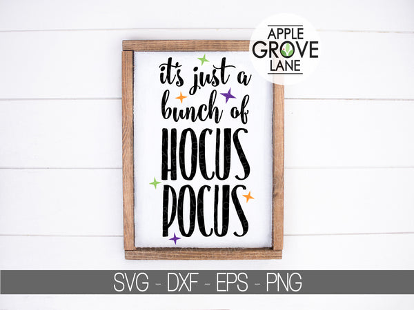 Bunch of Hocus Pocus Svg - Halloween Svg - Fall Svg - Witch Svg - Spell Svg - Svg Eps Dxf Png