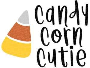 Candy Corn Cutie Svg - Halloween Candy Svg - Candy Corn Svg - Halloween Svg - Halloween Shirt Svg - Fall Svg - Svg Eps Dxf Png