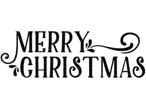 Merry Christmas Svg - Christmas Svg - Merry Christmas Clip Art - Farmhouse Christmas SVG - Merry Christmas Svg Cut File - Svg Eps Dxf Png
