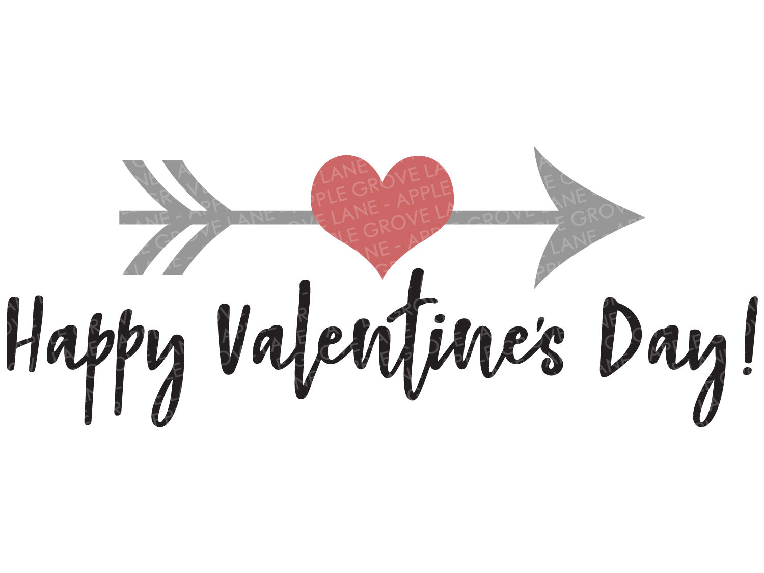 Happy Valentines Day Svg Valentine Svg Valentines Day Svg Heart Apple Grove Lane