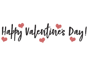 Happy Valentine's Day Svg - Happy Valentines Day Svg - Valentine Svg - Hearts Svg - Hearts Vector - Vday Svg - Happy Vday - Svg Eps Dxf Png