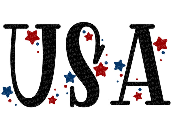 USA Svg - USA Clip Art - Patriotic SVG - Military Svg - Veteran Svg - 4th of July Svg - Memorial Day Svg - Soldier Svg - Svg Eps Dxf Png