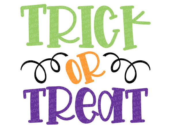 Trick or Treat Svg - Halloween Svg - Fall Svg - Halloween Treat Svg - Autumn Svg - Svg Eps Png Dxf