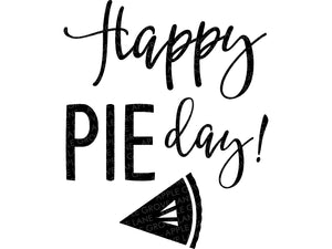 Happy Pie Day Svg - Fall Svg - Thanksgiving Svg - Pumpkin Pie Svg - Autumn Svg - Thankful Svg - Svg Eps Png Dxf
