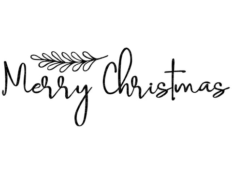 Merry Christmas Svg - Christmas Svg - Holiday Svg - Merry Christmas Clip Art - Christmas Clipart - Christmas Farmhouse SVG - Svg Eps Png Dxf