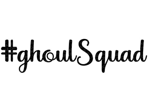 Ghoul Squad Svg - Halloween SVG - Girls Halloween Svg - Halloween Shirt Svg - Girl Squad SVG - Bridal Shower Svg - Svg Eps Png Dxf