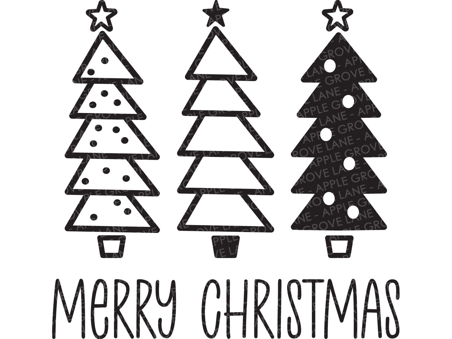 Merry Christmas Svg - Christmas Tree SVG - Christmas Svg - Christmas Sign Svg - Christmas Trees Svg - Christmas Shirt Svg Eps Dxf Png