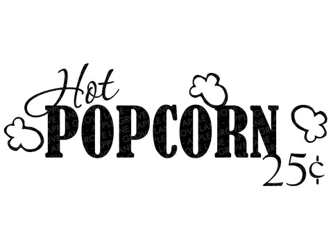 Popcorn Svg - Movie Theater Svg - Carnival Svg - Theater Svg - Hot Popcorn Svg - Home Theater Svg - Home Movie Svg - Svg Eps Dxf Png