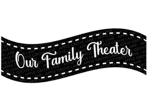 Home Theater Svg - Movie Theater Svg - Family Theater Svg - Theater Svg - Film Svg - Cinema Svg - Movie Svg - Svg Eps Dxf Png