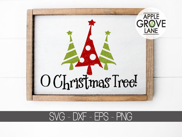 O Christmas Tree Svg  - Christmas SVG - Christmas Tree Clip Art - Christmas Star Svg - Christmas Tree SVG - Svg Eps Png Dxf