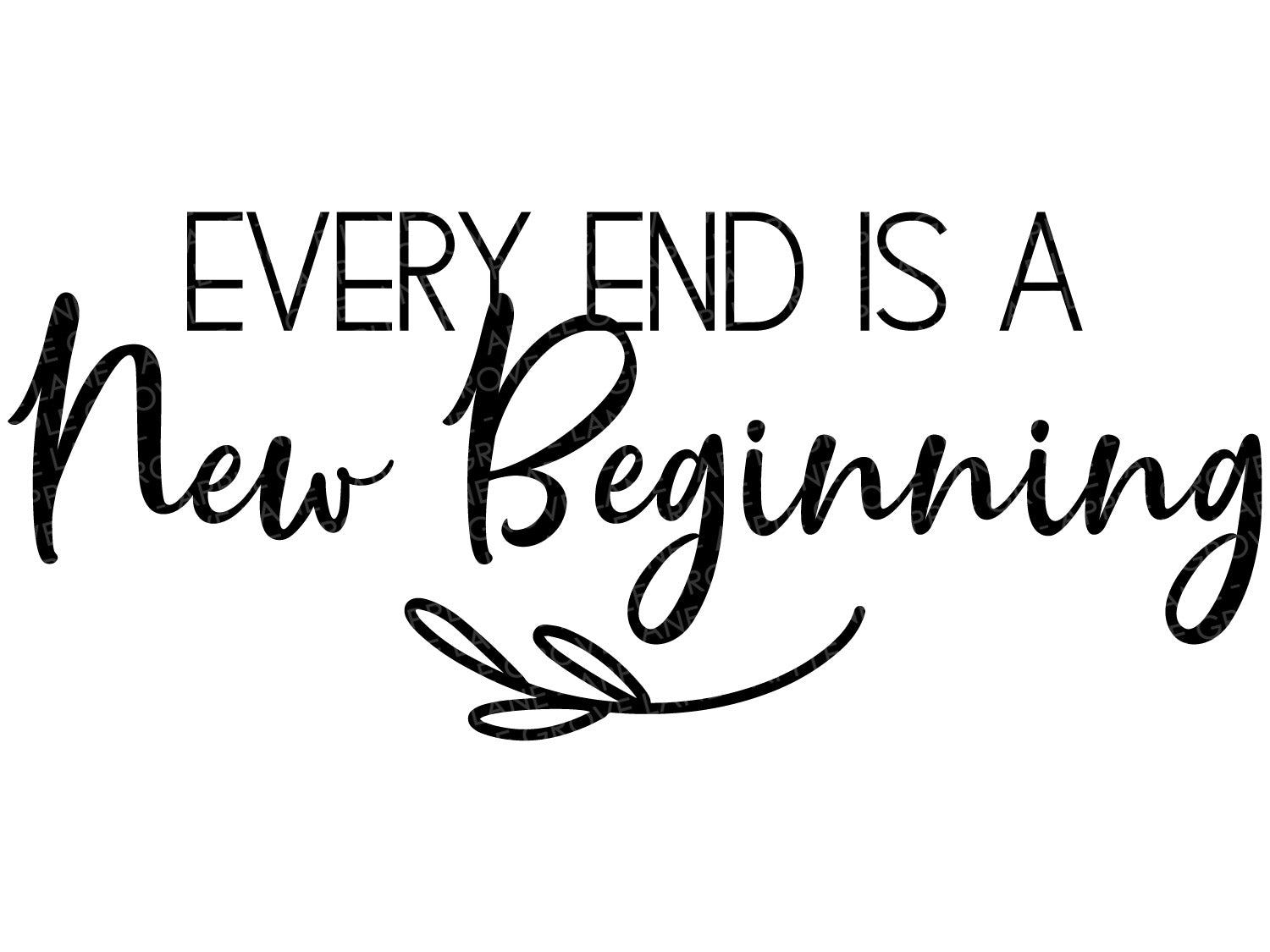 New Beginning Svg - New Year Svg - Marriage Svg - Fitness Svg - Loss Svg - Exercise Svg - New Job Svg - Change Svg - Svg Eps Dxf Png