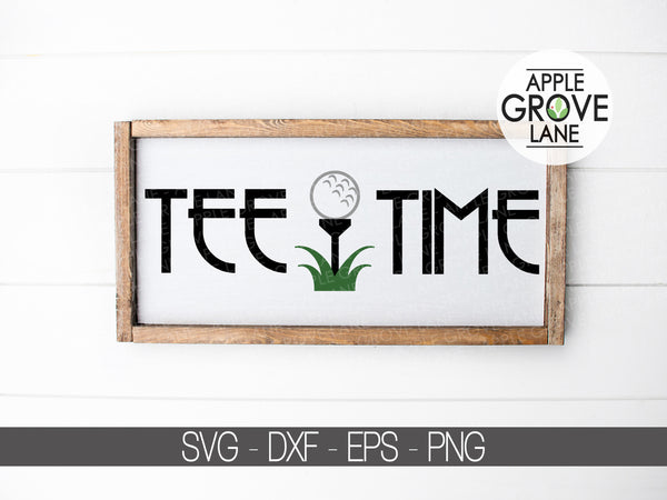 Tee Time Svg - Golf Svg - Golf Ball Svg - Golf Tee Svg - Golfer Svg - Golf Clip Art - Golfing Svg - Sports Svg - Svg Eps Dxf Png