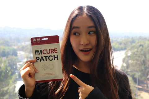 Megan Lee loves the healing power of the I'm Cure Patch