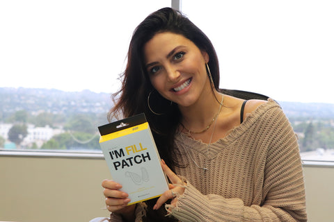 Cassandra Scerbo loves the micro-needles from Karatica's I'm Fill Patch