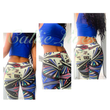 Load image into Gallery viewer, Stasia Sushi or Me: Japanese Hacci Sublimation Print Leggings - callielives