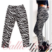Load image into Gallery viewer, Ta-Ta Wild Zebra & Paisley Mini Me Kids Leggings - callielives