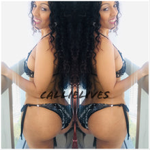 Load image into Gallery viewer, Xena Swimmin' in Sequins: 1 Piece Monokini Swimsuit - callielives