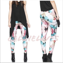 Load image into Gallery viewer, Stasia Chill Pill: Digital Print Graphic Leggings