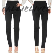 Load image into Gallery viewer, Elaine Ponte: Moschino Cheap Chic Black Work Pants