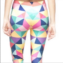 Load image into Gallery viewer, Stasia Pastel Tetris: Digital Printed 3D Leggings, Leggings & Joggers, CallieLives