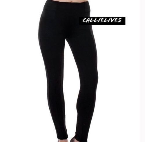 Callie Slim Thick: knit bandage waist skinny pants, Skinny Pants & Palazzos & Other Cute Bottoms, CallieLives